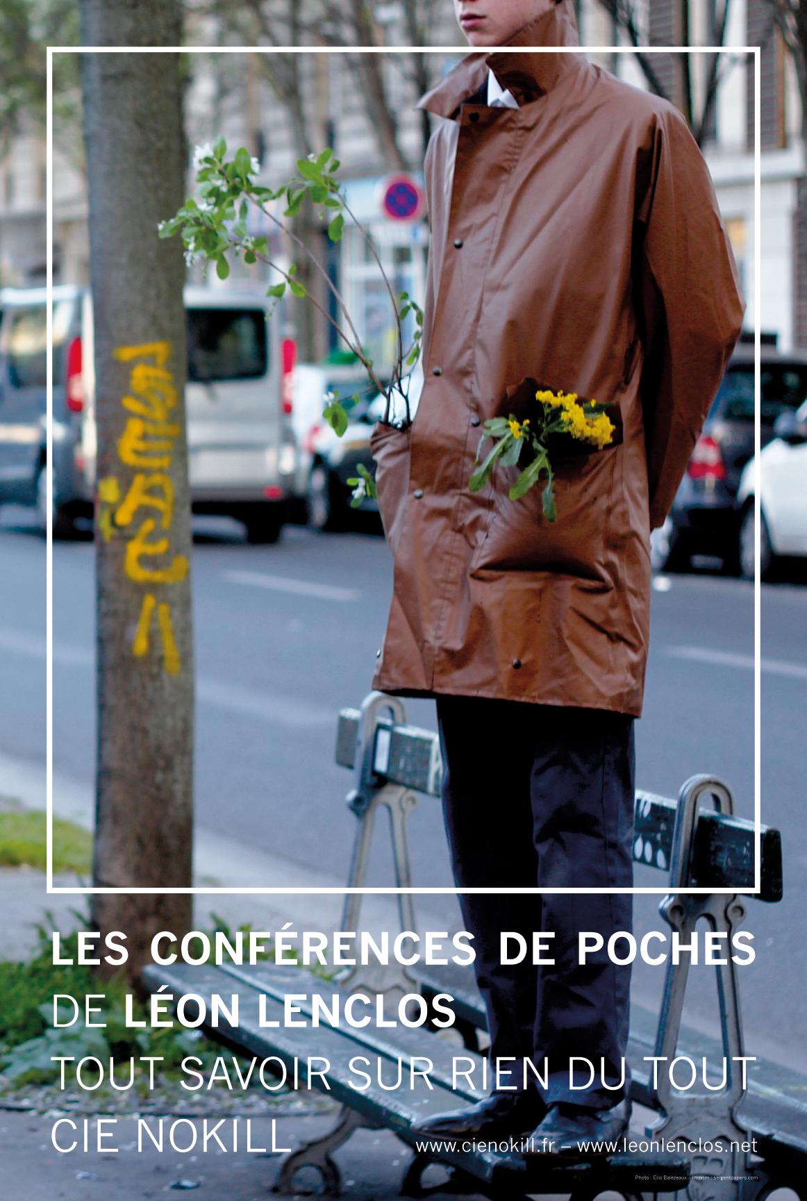 Affiche Conferences de poche